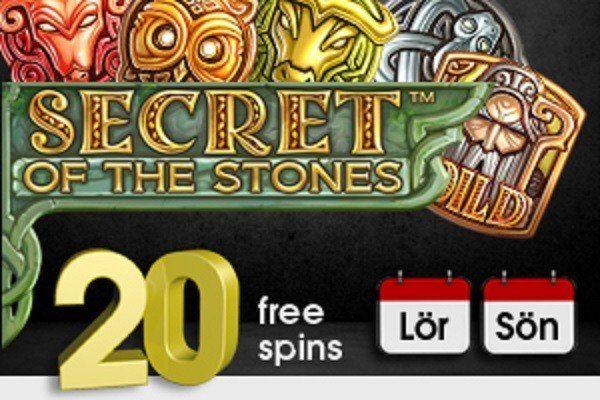 Casinofloor räddar helgen med free spins