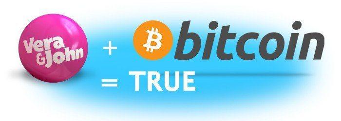 VeraJohn är det första Casinot i världen med bitcoin