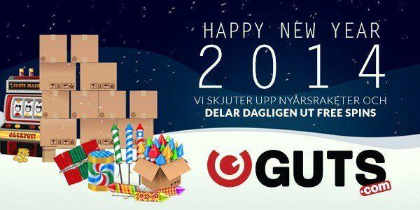 Räkna ner till nyår med Guts