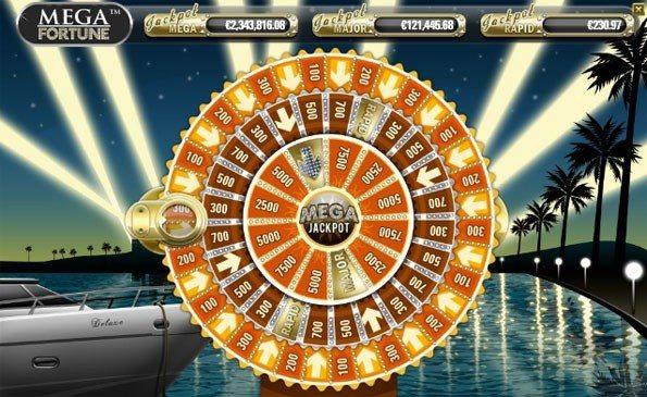 Free Spins på Mega Fortune