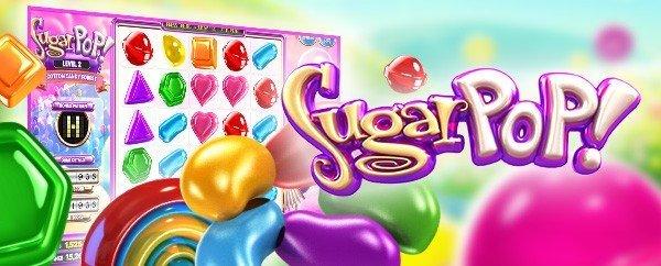 Sugarpop en ny härlig slot hos LeoVegas