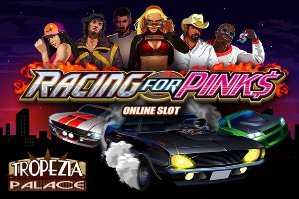 Ny turboladdad slot hos Tropezia Palace - Racing for Pinks!