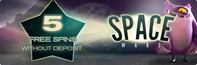 Prova Space Wars! Redbet ger dig 5 Free Spins!