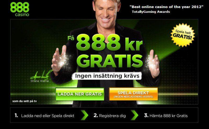 888 kr gratis till alla nya kunder!