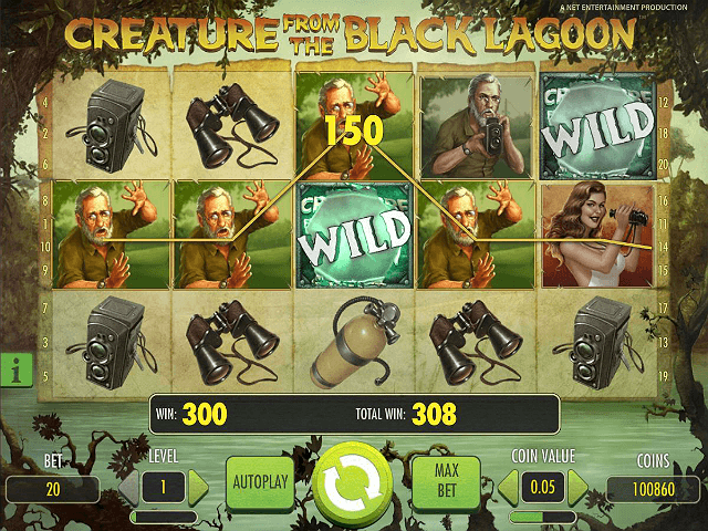 Creature from the Black Lagoon Slot - Free to Play Online