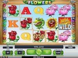 10 Gratis snurr på Flowers!