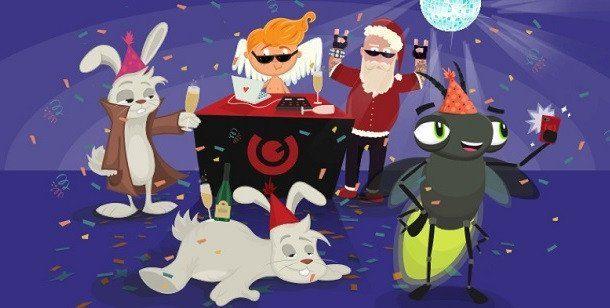 Du vill inte missa den här festen och alla casinobonusar!