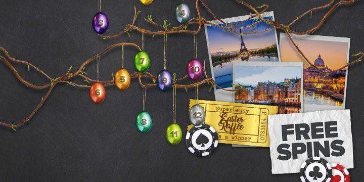 Sju gyllene påskägg kvar och mängder av free spins i trevliga casinospel