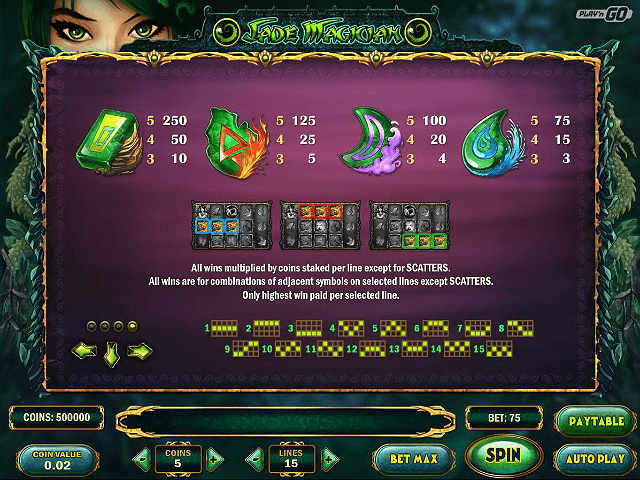 Jade Magician Slots - Try it Online for Free or Real Money