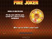 Fire Joker Skjermbilde 1