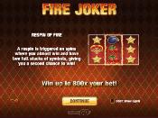 Fire Joker Skjermbilde 2