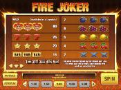 Fire Joker Skjermbilde 4