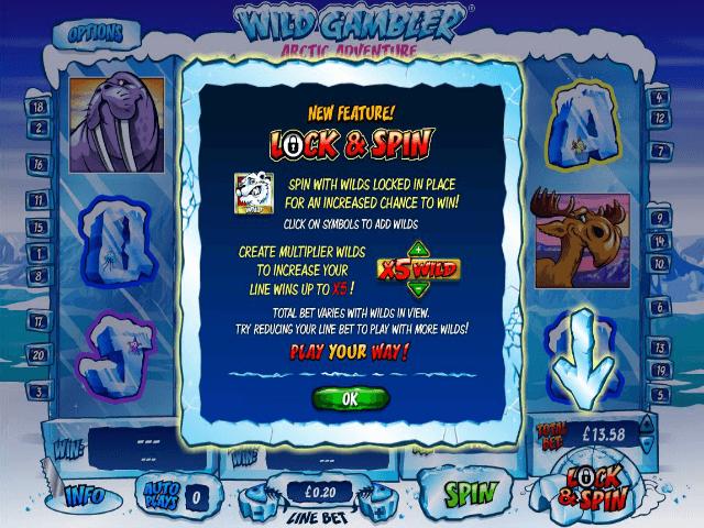 Wild Gambler Arctic Adventure Slot Machine