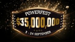 PartyPoker Live Promises $35m in Guarantees Next Powerfest