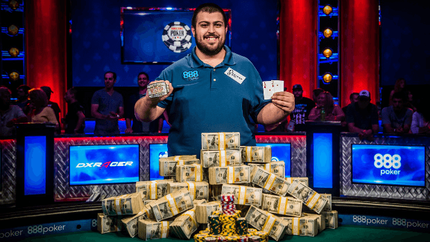 First-Time WSOP Rookie Wins Third Largest Main Event Ever