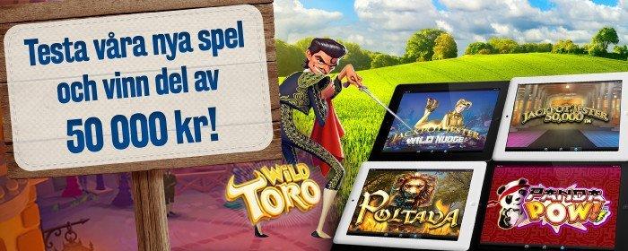 Svenskt casino kan det här med kampanjer!