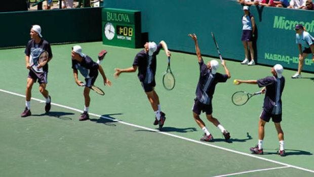 Tennis Betting Strategy: In-Play Server Betting