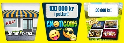 Svea laddar inför helgen med casinobonusar och prispengar!