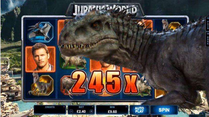 Dinosaurier tar över våra casinon och dominerar bland veckans nya spel!