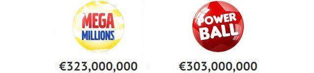 Lotto online med två chanser på 300 miljoner… EURO!