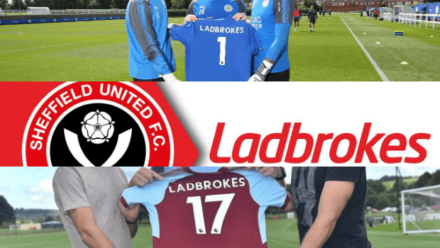Leicester, Burnley and Sheffield Sign Deal with Ladbrokes