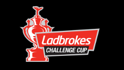 Rugby Challenge Cup and Ball Street Sign Ladbrokes Deals