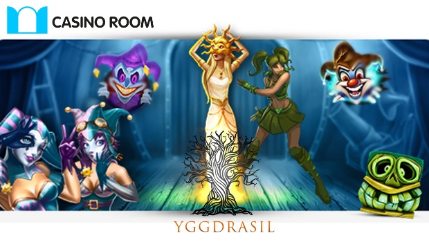 Casino Room Expands Slot Selection with Yggdrasil Line-up