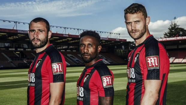 Mansion Secure Sleeve Sponsorship of the EPL's Bournemouth