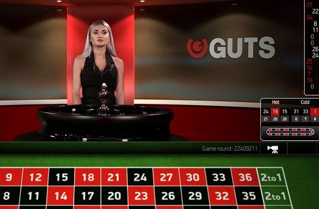 Guts bjuder på vinnande blandning av spelautomater, sportsbetting och roulette på nätet
