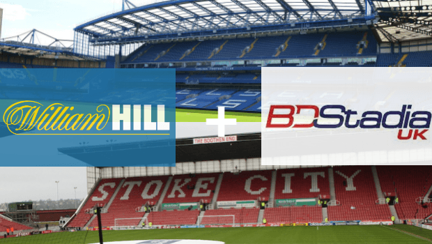 William Hill Moves to Dominate In-Stadium Betting with Deal