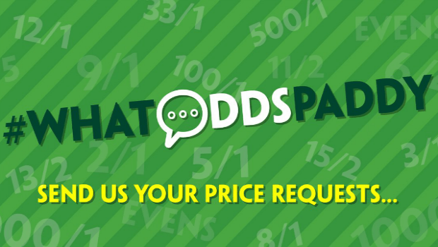 Paddy Power's #WhatOddsPaddy Features the Wildest Wagers