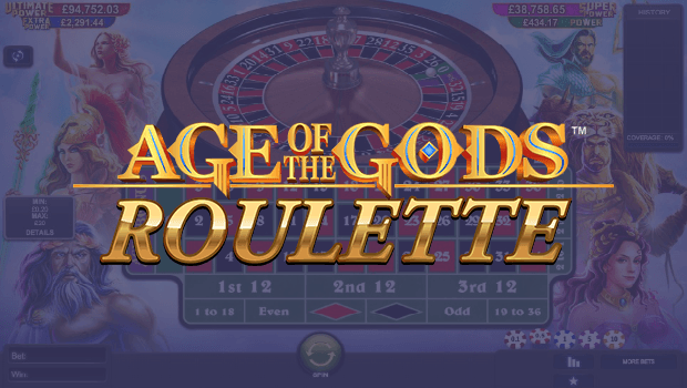 Age of the Gods Roulette Goes Live Across Playtech Casinos