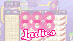 Brand New Candylicious Bingo Rooms Heading to 888ladies