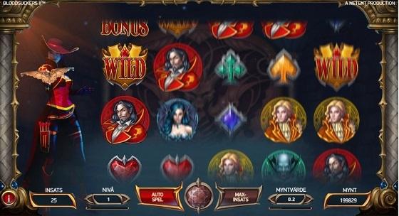Blood Suckers II Slot - Spela det gratis på nätet