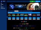 Breakout Live Casino Screenshot