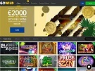 GoWild Casino Screenshot