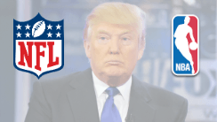 Trump and Major US Leagues Support NJ Sports Betting Ban