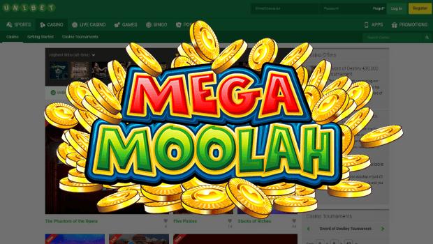 Mega Moolah Slot £6.9m Jackpot Secured Thanks to Unibet