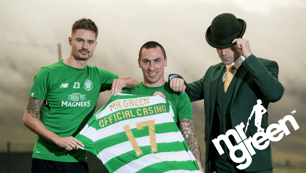 New Celtic FC Sponsorship Boosts Mr Green's Sportsbook