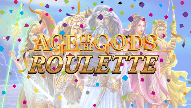 Age of the Gods Live Roulette Already Crowns £600k Jackpot