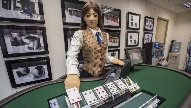 Casino Croupier Roboter