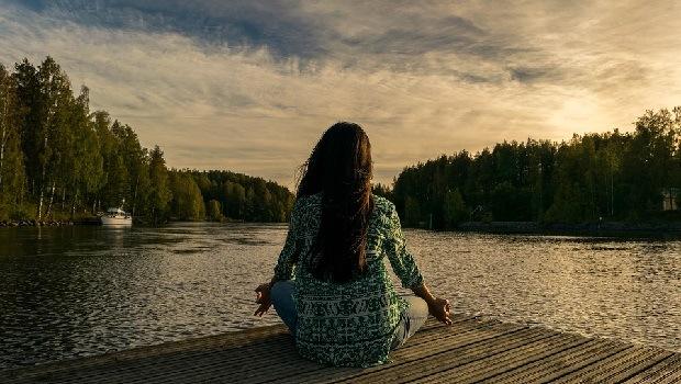 Natur meditieren