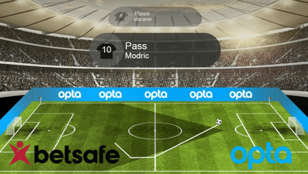 New Opta 3D Football Visualisation Now Live at Betsafe