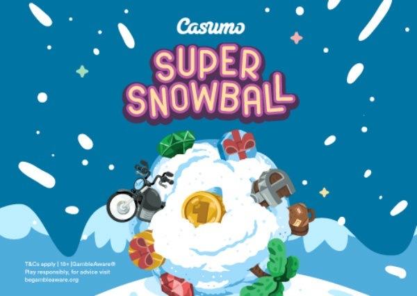 Samla snöbollar via din mobil och vinn stort i jul hos casino!