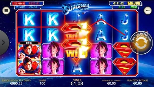 Superman mobile slot