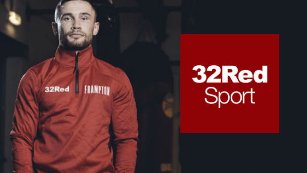 Carl Frampton Signs On as New 32Red Brand Ambassador