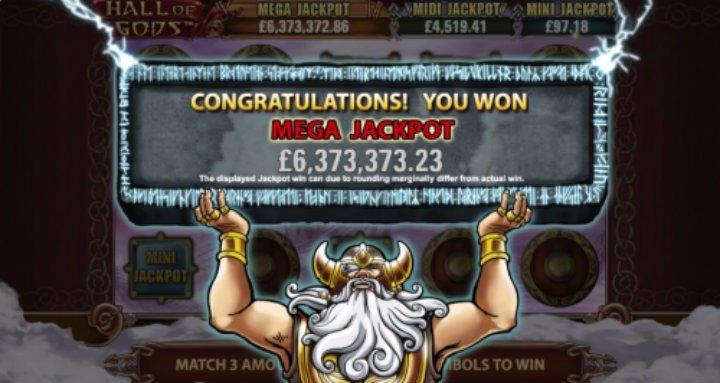 Rekordstor jackpott utdelad i gudomligt spel hos casino på nätet!