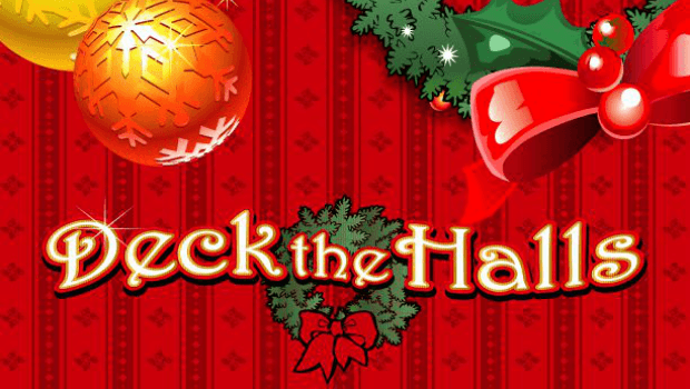 Deck the Halls slot logo