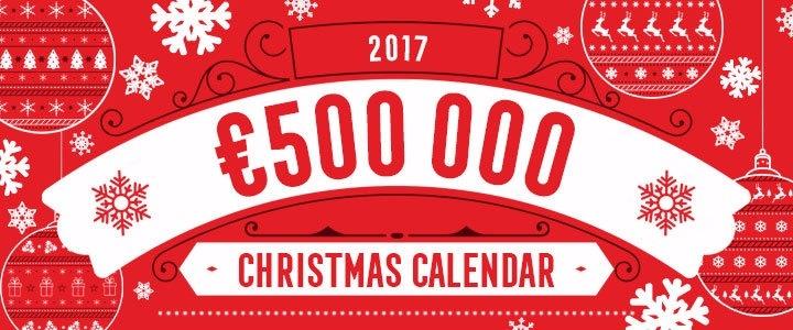 Stor julkalender i spelautomater hos våra svenska casinon 2017!