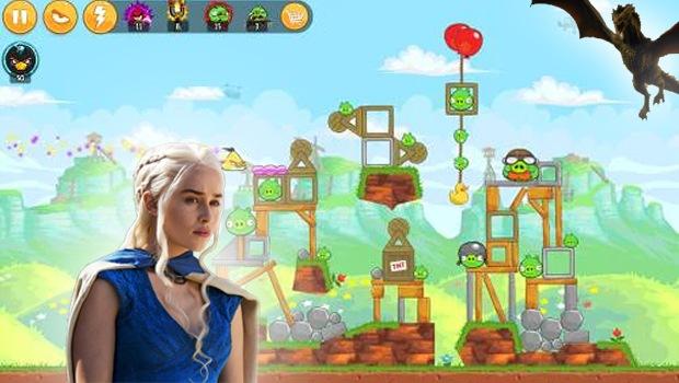 Daenerys Targaryen: Angry Birds